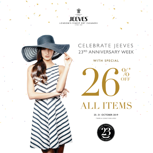 JEEVES INDONESIA 23rd ANNIVERSARY